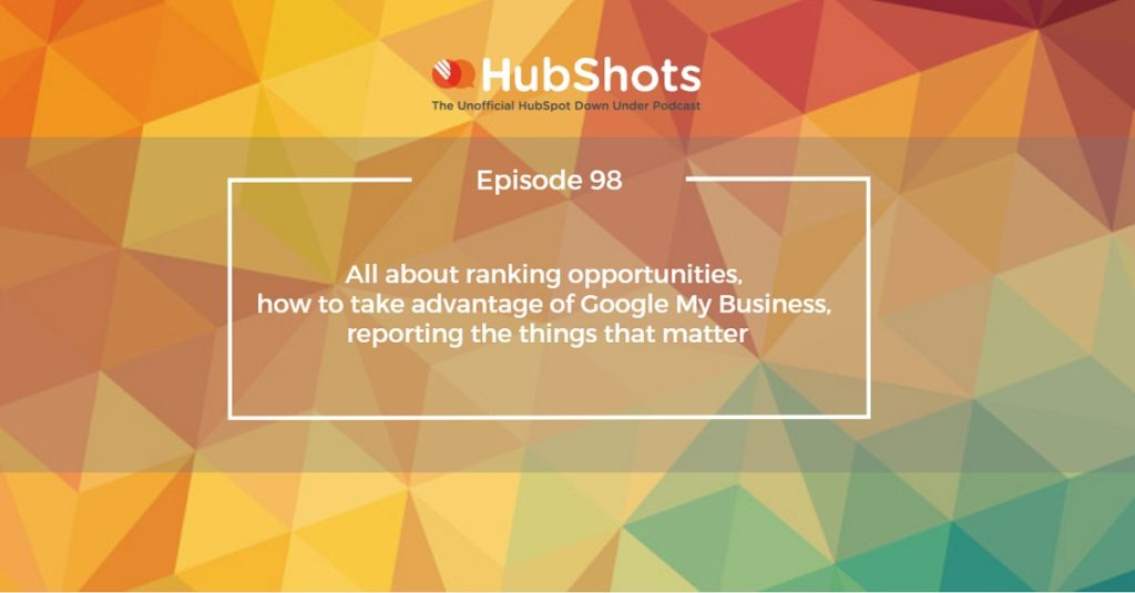 HubShots Episode 98