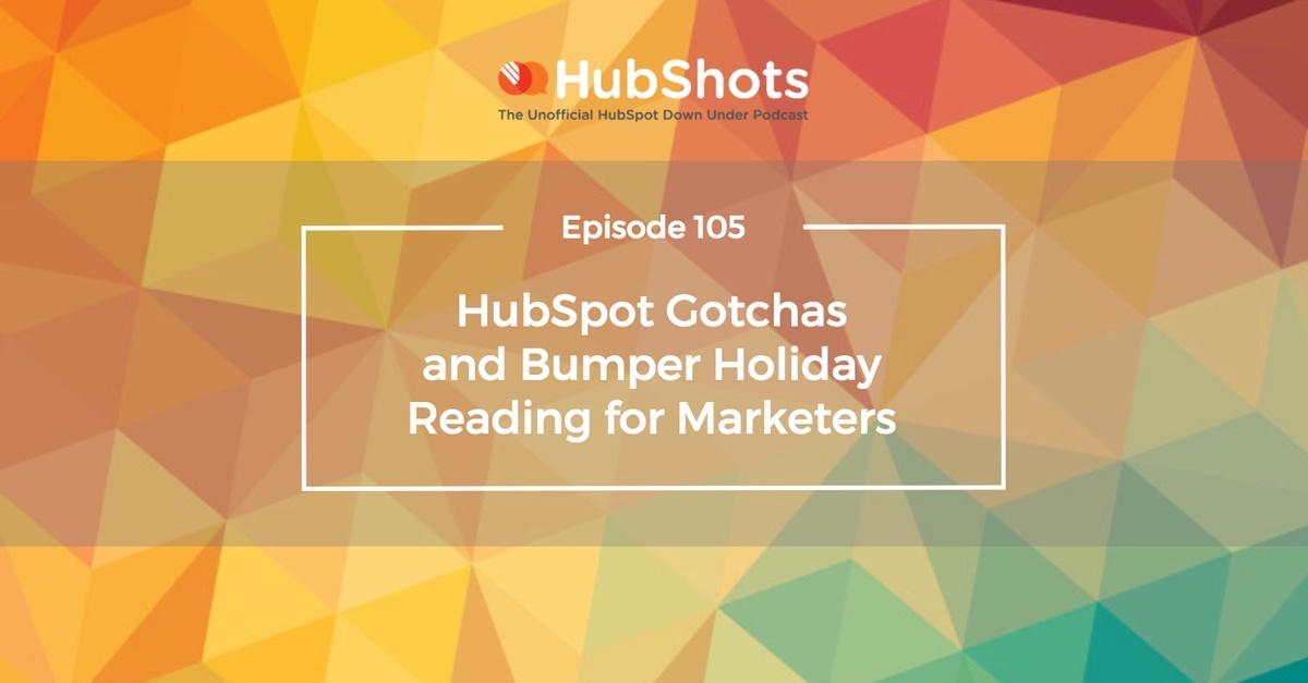 HubShots 105