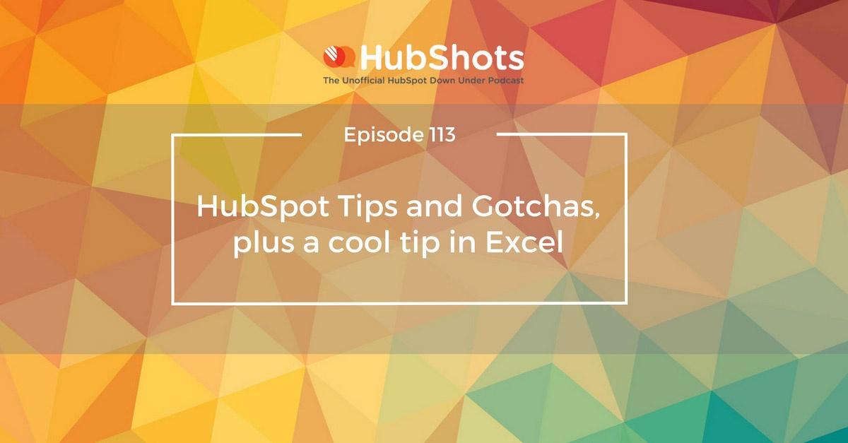 HubShots Episode 113