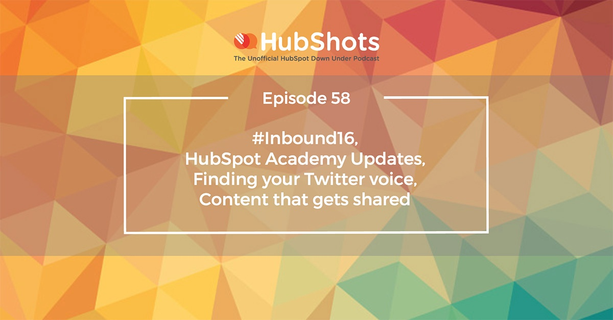 HubShots Episode 58