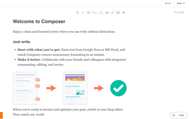 Composer   HubSpot