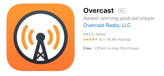 Overcast on the App Store