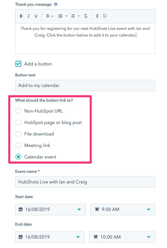 Pop Up Forms   HubSpot 2