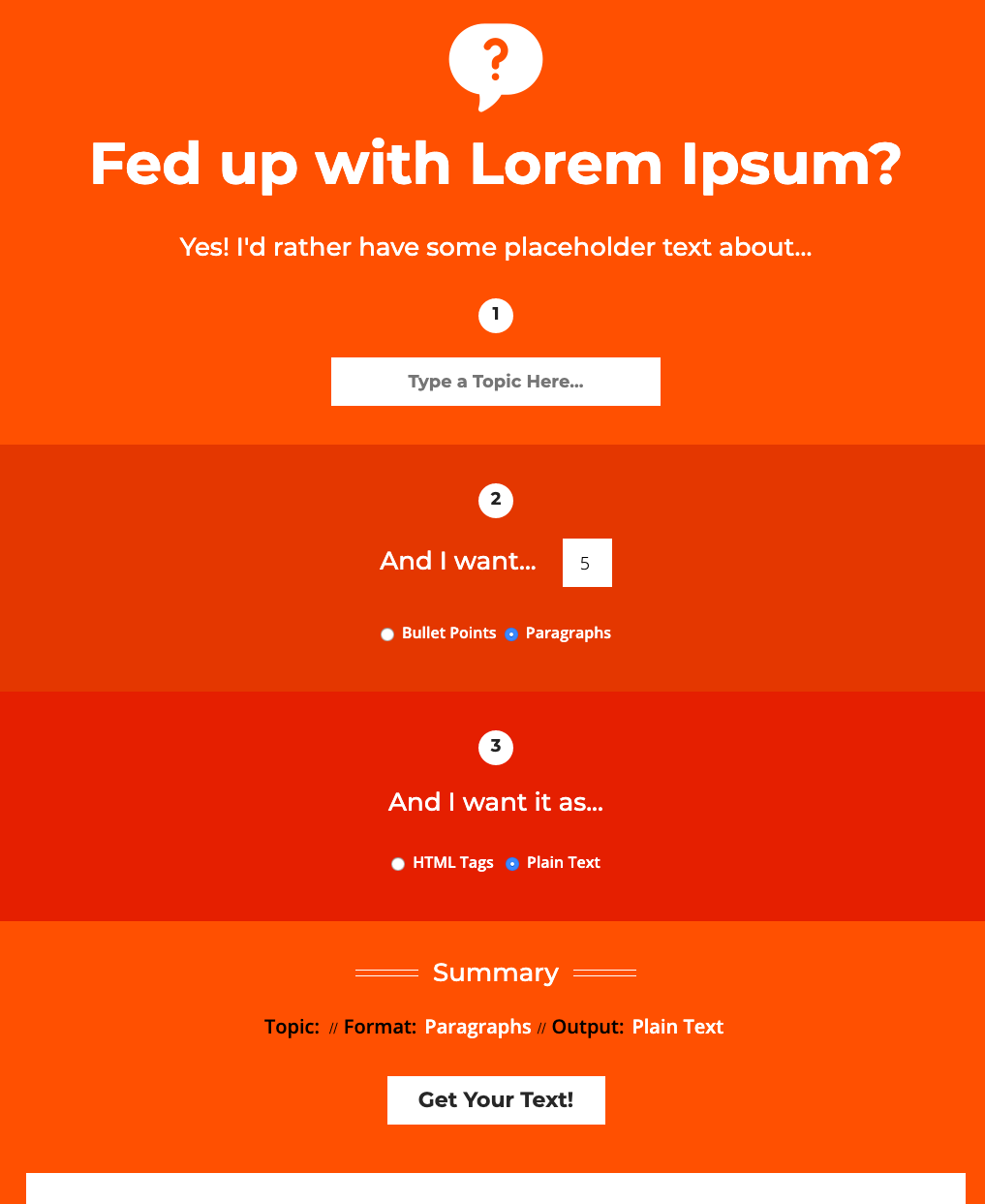 The World s Best Industry Specific Lorem Ipsum Generator