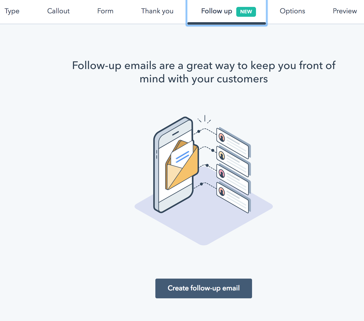 hubspot lead flow emails